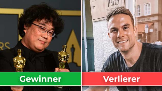 """Gewinner und Verlierer: """"Parasite"""" und Sebastian Preuss"""