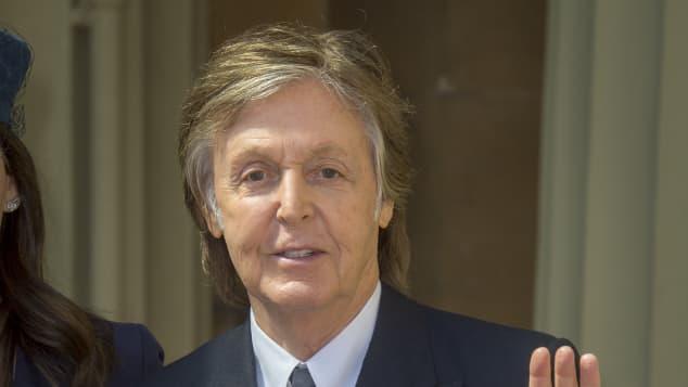 Paul McCartney Orden of Honour, Ehrenorden 2018