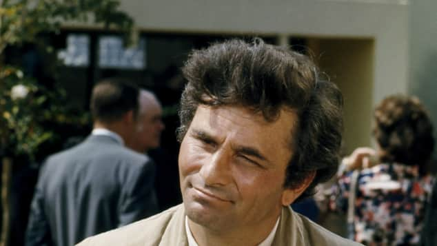 "Peter Falk als ""Columbo"""