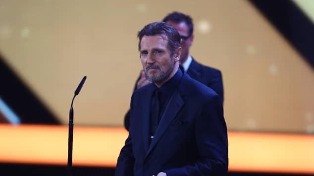 Liam Neeson als Preisträger der Goldenen Kamera 2018