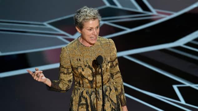 Preisträger Oscars 2018: Frances McDormand als Beste Hauptdarstellerin