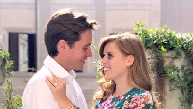 Prinzessin Beatrice und Edoardo Mapelli