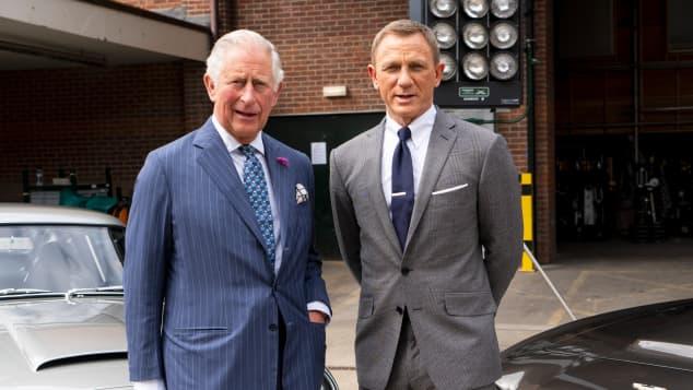 Prinz Charles Daniel Craig James Bond