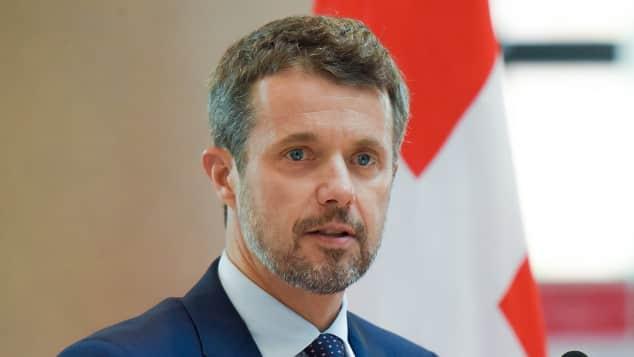 Dänemarks Thronfolger Prinz Frederik