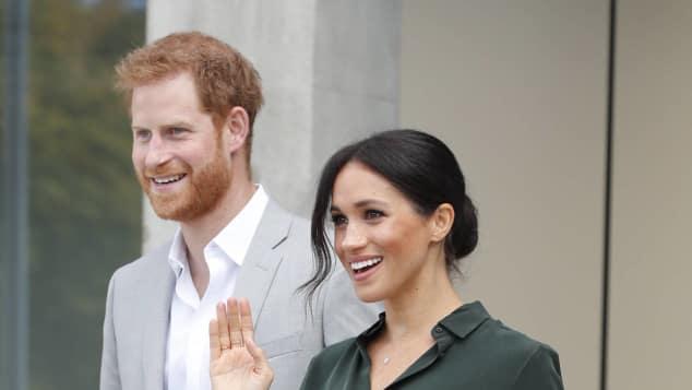 Prinz Harry und Herzogin Meghan am 3. Oktober 2018. Hier kann man schon einen kleinen Babybauch erahnen