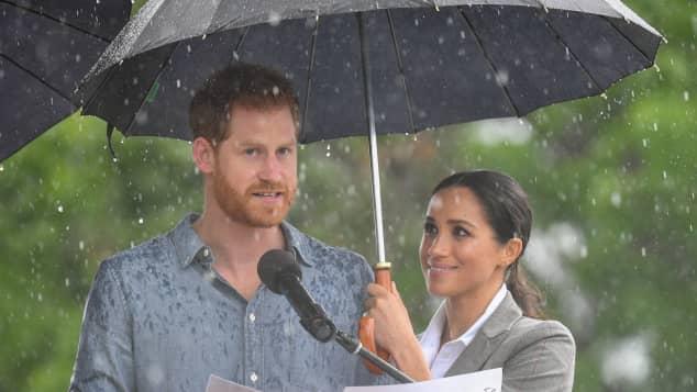 Prinz Harry und Herzogin Meghan bei ihrer Australien-Reise