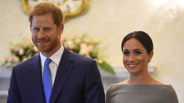 Prinz Harry und Herzogin Meghan in Irland