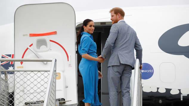 Prinz Harry und Herzogin Meghan hatten Beinahe-Unfall mit Flieger