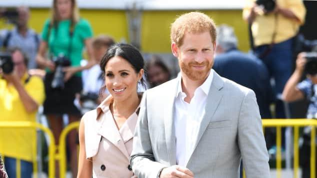 Prinz Harry  Herzogin Meghan Meghan Markle Nelson Mandela Ausstellung