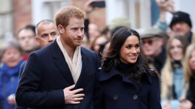 Prinz Harry und Meghan Markle bei ihrem Besuch in Nottingham am 1. Dezember 2017