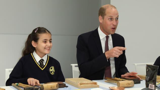 Prinz William bei der Eröffnung eines neuen japanischen Kulturzentrums in London