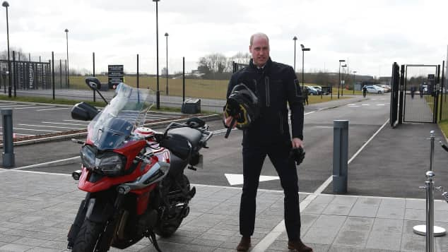 Prinz William, Motorräder, Zweirad, Motorrad, Triumph Motorcycles