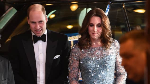Prinz William und Herzogin Kate bei der Royal Variety Performance 2017