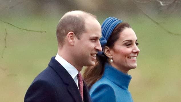 Herzogin Kate Prinz William Kirche Sandringham Geburtstag