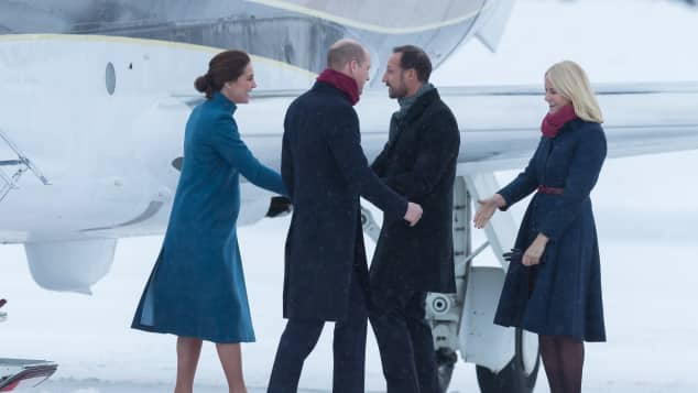 Prinz William Kate Mette Marit Prinz Haakon