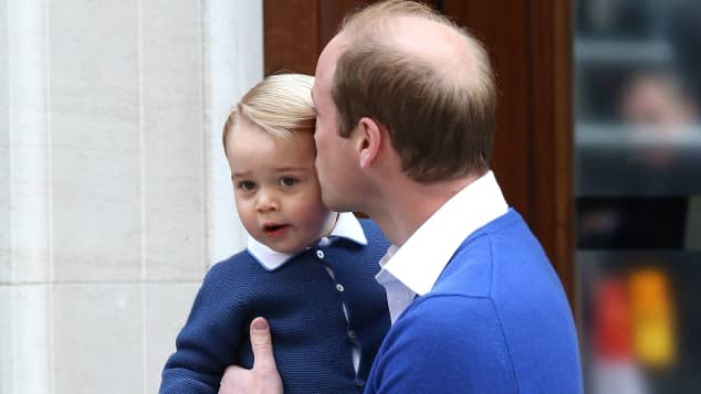 Prinz William und Prinz George im Mai 2018