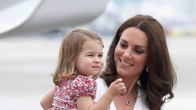 Prinzessin Charlotte und Mama Herzogin Kate sind sich sehr ähnlich