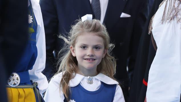 Prinzessin Estelle beim Nationalfeiertag in Stockholm, Schweden 2019