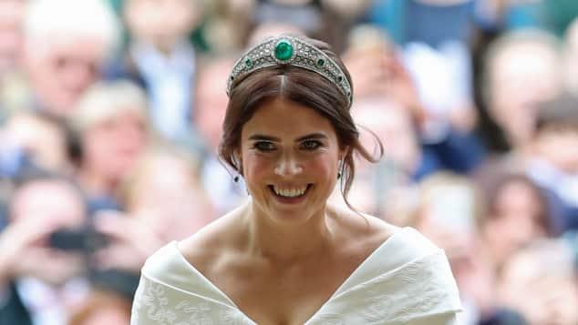 Prinzessin Eugenie an ihrer Hochzeit am 12. Oktober 2018