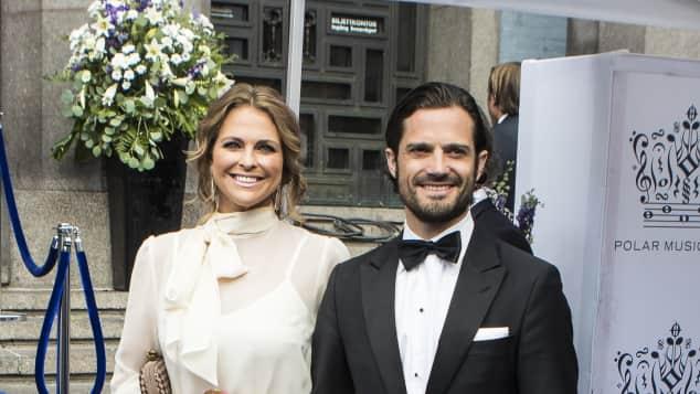 Prinzessin Madeleine und Prinz Carl Philip