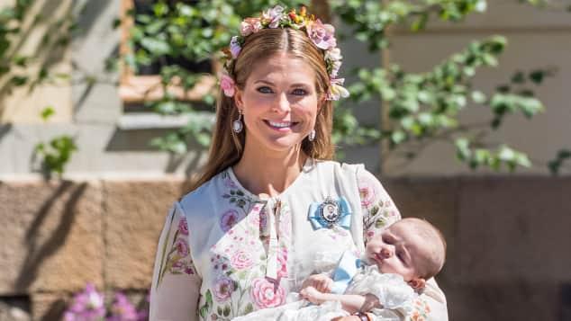 Prinzessin Madeleine Prinzessin Adrienne Taufe