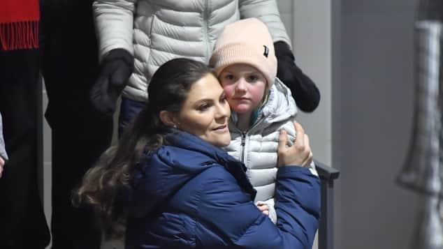 Prinzessin Victoria Prinzessin Estelle Eishockey