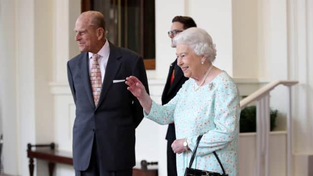 Prinz Philip Queen Elisabeth Handtasche