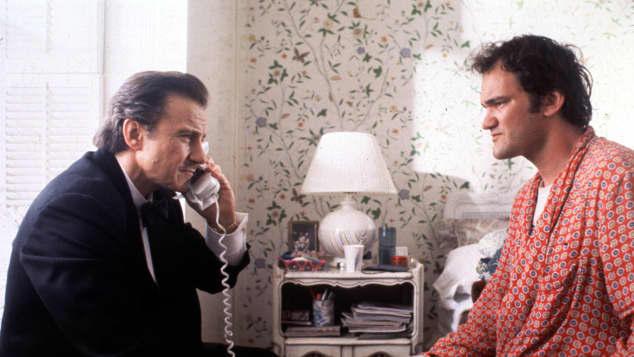 """Harvey Keitel und Quentin Tarantino in """"Pulp Fiction"""""""