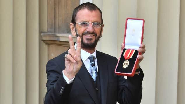 Ringo Starr und seine Frau Barbara Bach