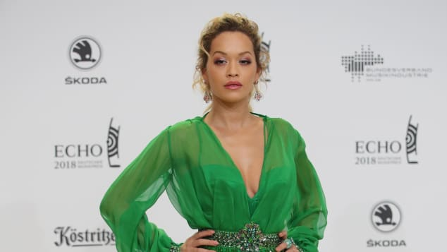 Rita Ora beim ECHO 2018 in Versace