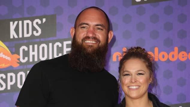 Ronda Rousey und ihr Mann Travis Brown