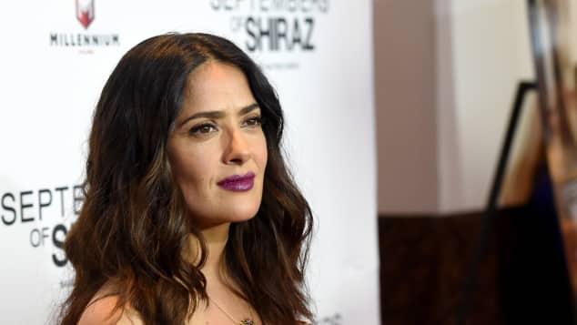 Auch Salma Hayek wurde von Harvey Weinstein belästigt