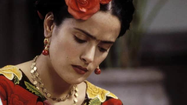"Salma Hayek in ""Frida"""