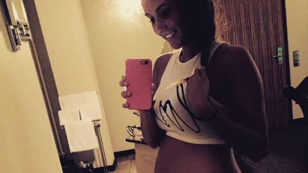 Sarah Lombardi hat ihre Schwangerschaft 2015 genossen