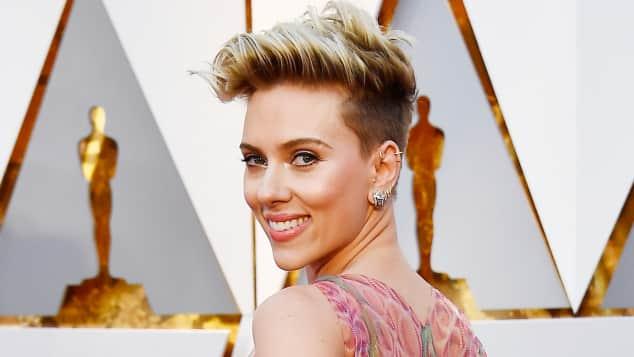 Scarlett Johansson bei den Oscars 2017