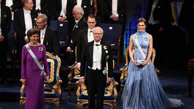 schwedisches königshaus nobelpreis verleihung stockholm 2017