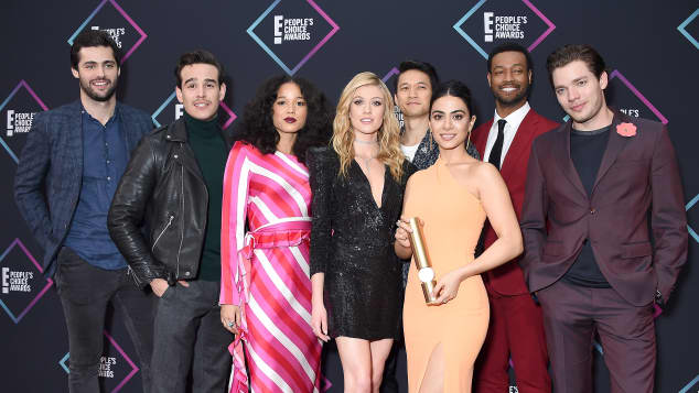 The cast of 'Shadowhunters'