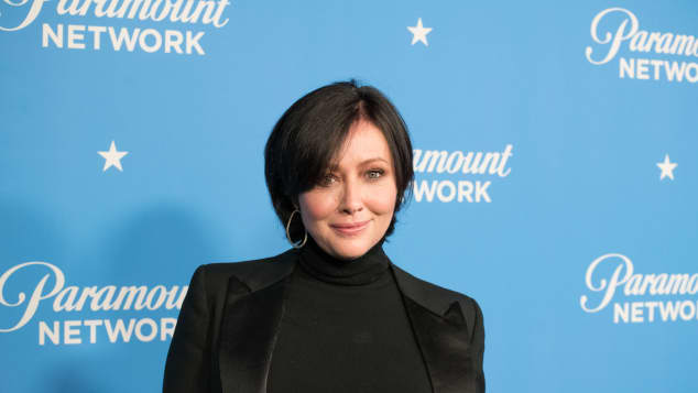 Shannen Doherty after defeating cancer