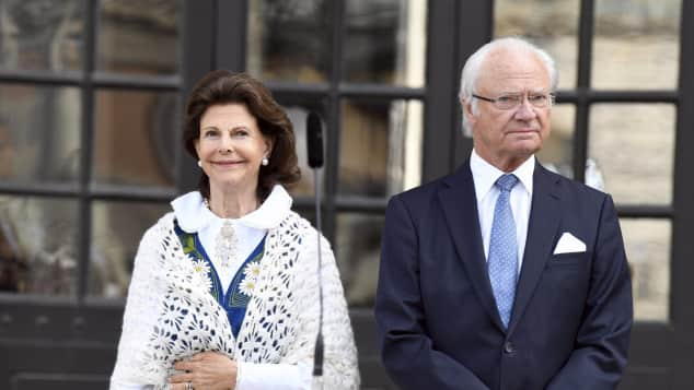 Königin Silvia und König Carl Gustav