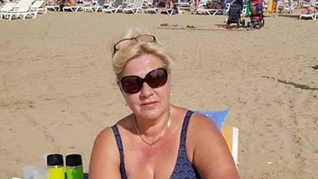 Silvia Wollny im Badeanzug