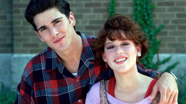 """Michael Schoeffling und Molly Ringwald in """"Sixteen Candles"""", Sixteen Candles"""