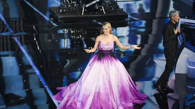 Michelle Hunziker begeistert mit Prinzessinnen-Auftritt