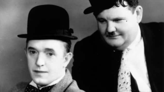 Stan Laurel, Oliver Hardy, Dick und Doof