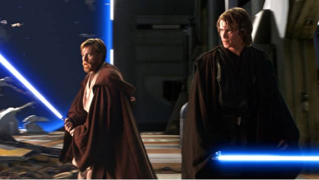 star wars ewan mcgregor hayden christensen