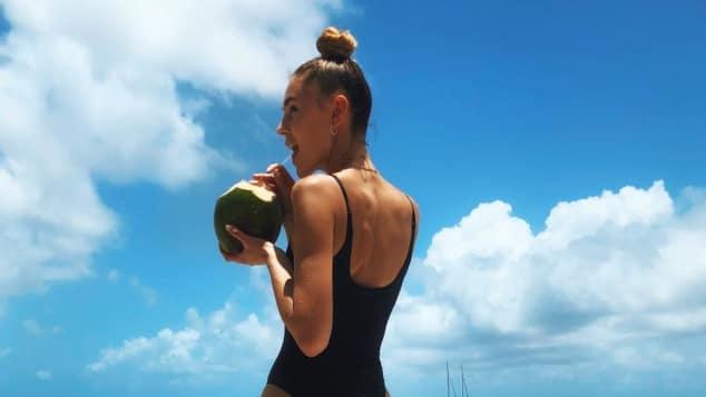 Stefanie Giesinger zeigt sich super sexy in einem knappen Badeanzug auf Instagram, Stefanie Giesinger, Stefanie Giesinger sexy