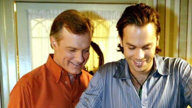 """Stephen Collins und Barry Watson in eine """"Himmlische Familie"""""""