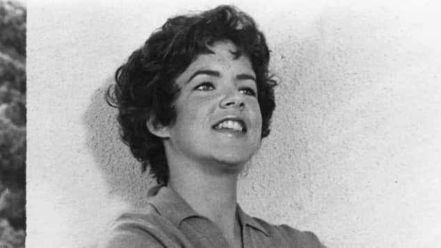 "Stockard Channing as ""Betty Rizzo"" in the 1978 musical movie sensation Grease."