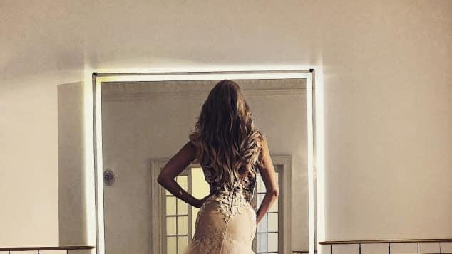 Sylvie Meis Hochzeitskleid