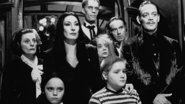 The Cast of 'The Addams Family' in 1991