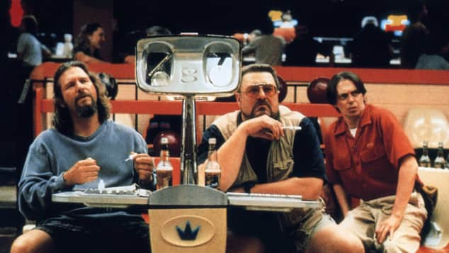 "Jeff Bridges, John Goodman und Steve Buscemi (von links) in ""The Big Lebowski"""